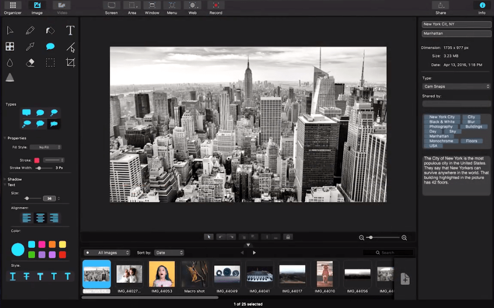 Screen Capture and Video Editing