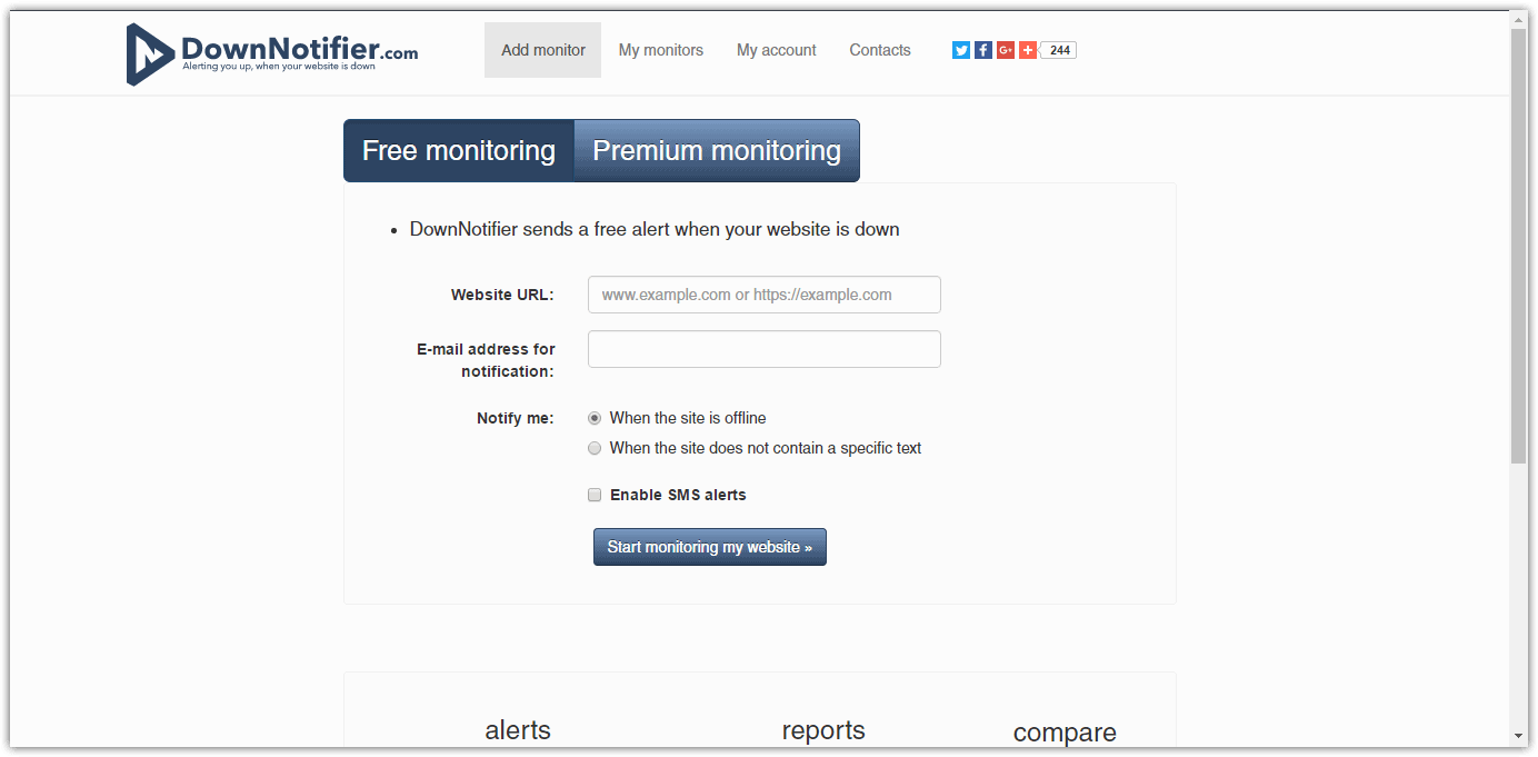 Best-Website-Monitoring-Tools-20 DownNotifier